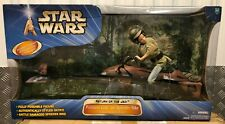 "Princess Leia On Speeder Bike - 12"" Star Wars Figure (Endor Forest Chase) ROTJ"