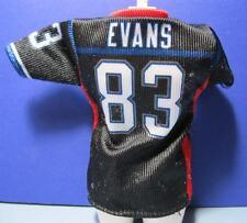 CLOTHES-Ravens Football Barbie Doll Authentic Team Uniform Evans 83 Jersey Shirt