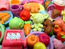Littlest Pet Shop Lot 7 RANDOM Grocery Food Dishes Kitchen Accessories SURPRISE