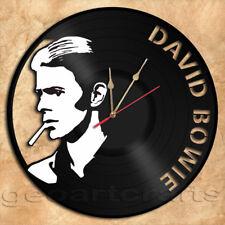 David Bowie Vinyl Record Clock