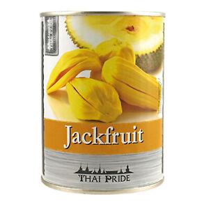 565g / ATG 230g Jackfruit in Sirup Thai Pride Dessert Jackfrucht aus Thailand