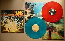 The Flaming Lips At War With The Mystic 2 LP Red/Blue Vinyl Set