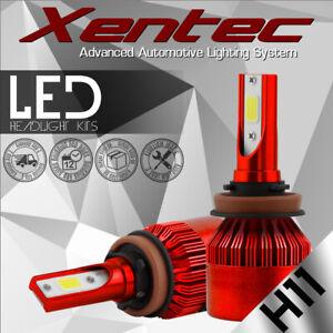 XENTEC 388W 6000K 38800LM H11 H9 H8 LED Headlight Bulb Kit Low Beam Fog Light