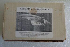 FXM STAR TREK EXCELSIOR CLASS STARSHIP ENTERPRISE B SOLID RESIN MODEL 1:2500