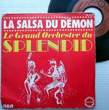 GRAND ORCHESTRE du SPLENDID Salsa Du Demon FRENCH DISCO soul 45 C2248