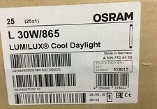 "L30W/865 Osram Fluorescent Bulb Auto Body Paint Spray Booth 6500K 36"" 25-pcs"