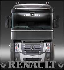 Renault Truck  sun visor sticker/decal for cab lightbox or visor exterior fit