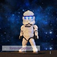 3.5 Storm Trooper Toy Doll Playskool Hero Light Up Star Wars Action Figure Gift