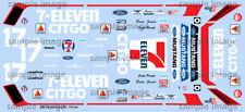 1986 Mustang GTO 7-Eleven water transfer decals, Revell, B Jenner, S Pruett 1/25