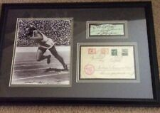 Jessie Owens Signed - 1936 Hindenburg Flown Olympic Cover