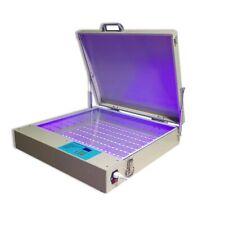 Qomolangma 20 X 24 80w Tabletop Precise Led Uv Screen Printing Exposure Unit
