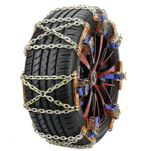 1PCS Steel Snow Tire Chain for Car Truck SUV Anti-Skid Emergency Winter Driving