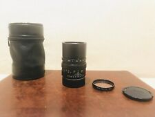 LEICA M 90mm 2.8   ELMARIT E46 MADE IN GERMANY FILTER LEATHER BAG M3 M6 M7 M2 M9