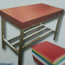 Commercial butchers block with stand butcher cutting table