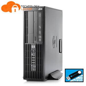 HP Z200 SFF Workstation  i7-870 8GB 500GB Quadro 600 Win 10 Desktop PC Computer