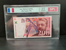 1  BILLET DE 200 FRANCS EIFFEIL 1996  SPL
