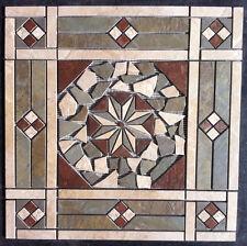 "21 1/2"" Tile Medallion - Daltile's Continental Slate tile, floor or wall"