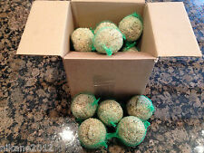 bird fat balls suet wild garden bird food dumplings new seed cage pets  netted