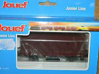 JOUEF Hornby HJ6011 junior line WAGON marchandise SNCF couvert à 2 essieux TRAIN