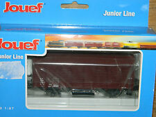 JOUEF Hornby HJ6011 junior line WAGON marchandise COUVERT sncf TRAIN zug CIRCUIT