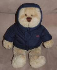 "BABY GAP 13"" Plush BRANNON BEAR Wearing COAT Stuffed Toy ~ RARE"