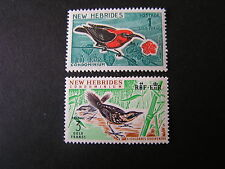 NEW HEBRIDES CONDOMINIUM, BRITISH, SCOTT # 104+106(2) 1963-67 LOCAL SCENES MLH