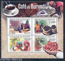 BURUNDI 2012  'COFFEE OF BURUNDI'  SHEET MINT NH