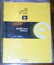John Deere 34G 44G Gas Grills Operators Manual