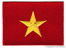 VIETNAM FLAG embroidered iron-on PATCH VIETNAMESE star applique NATIONAL EMBLEM