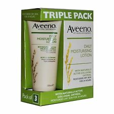Aveeno Daily Moisturising Lotion - 3X200ml - Triple Pack - FREE POSTAGE