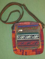 Vintage Persian Carpet Kilim Crossbody Wool Bag Messenger Shoulder Bag w/ Lining