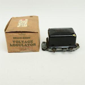 54-55 Nash Rambler Statesman 55 Studebaker Truck 6V Voltage Regulator 1118828
