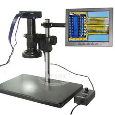 16MP 1080P 60FPS HDMI USB Digital Industry Microscope Camera Monitor 180X Lens