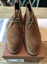 Brand New Suede Leather Coach Men Lexington Chukka Boot