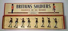 Britains Set #221 Uruguayan Military School Cadets (Alummos dela Escuela Mw/ Box