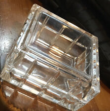lead crystal trinket jewelry box from Avon