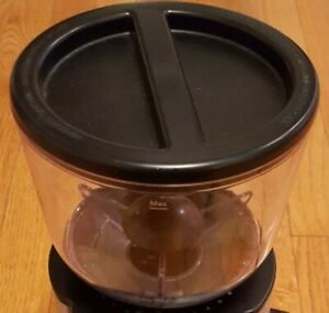 Mr. Coffee BVMC-BMH23 Burr Mill Grinder Replacement Bean Hopper LID NOT INCLUDED