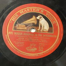 78rpm john mCcormack  softly through the night is calling / ave maria