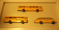 Post Advertisement Post Museums Shop 1993 Set POST BUS WIKING H0 BOXED