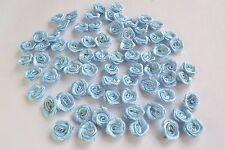 50 fiori di rose  nastro 1 cm raso bomboniere merceria sartoria fai da te 225