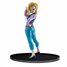 Dragon Ball Z Scultures Big 6 Vol. 1 Android C18 PVC Figure BANPRESTO