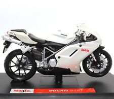 Ducati 848 1:18 Scale Die-cast Model Motorcycle Motorbike Special Edition