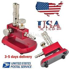 USA Dental Rotatable 30° micro Gas Light Bunsen Burner Double Tube Equipment-