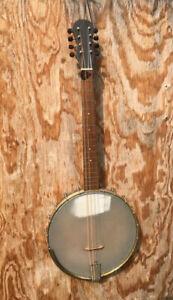 Vintage 8-string tenor banjo conversion