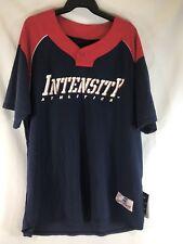 Intensity Athletics Baseball Jersey #14 Shirt Navy Mens Large