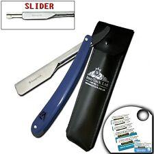 Barber Salon Straight Cut Throat Shaving Razors Rasoirs Rasoi Navalha + 10 Blade
