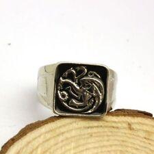 Game of Thrones Inspired Ring - Men Dragon Targaryen - Cosplay Gift **SALE**