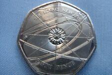 Rare 2017 Sir Isaac Newton 50p UK fifty pence Great British Coin Hunt