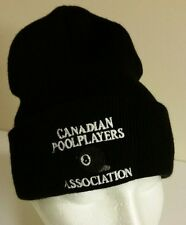 Canadian Pool Players Association Billiards Beanie Toque Hat Eight Ball Snooker