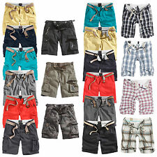 ★ Trooper™ by Surplus Raw Vintage Chino Cargo Shorts Walk Bermuda Sommer Army